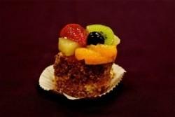Vruchten cake gebak - Broodhalen