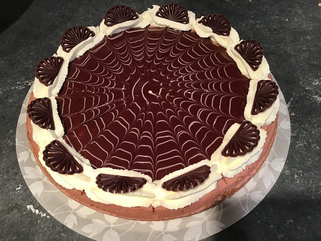 Chocolade bavaroise vlaai - Broodhalen