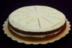 Bienenstich cake vlaai - Broodhalen